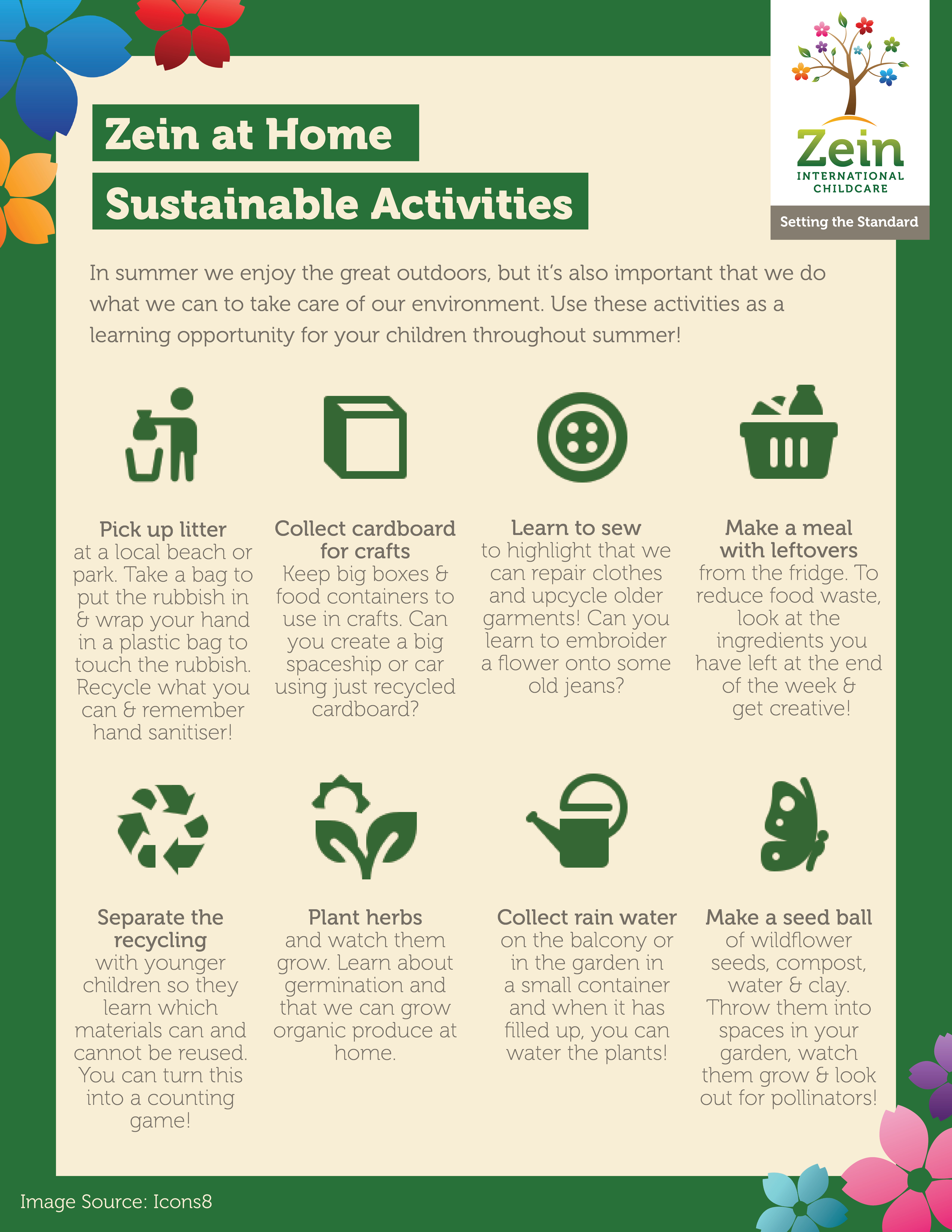 Sustainable childcare in The Hague, childcare activity ideas and after school care.