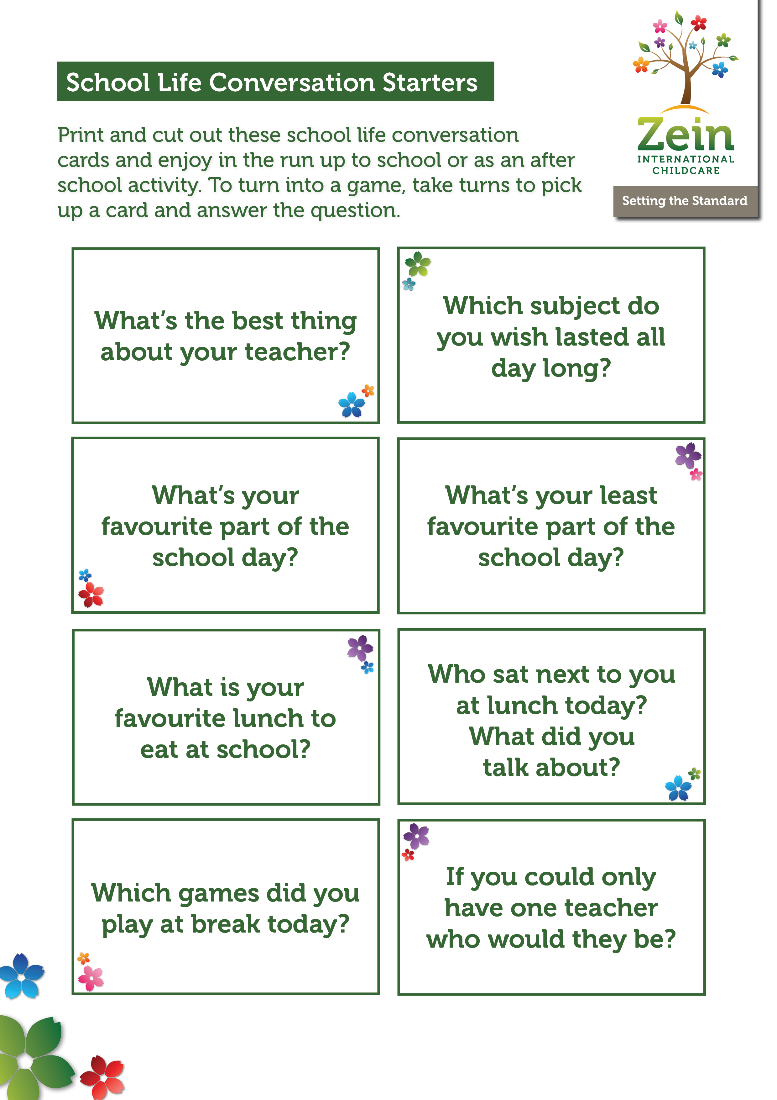 Conversation Starter Activity for Home (1)