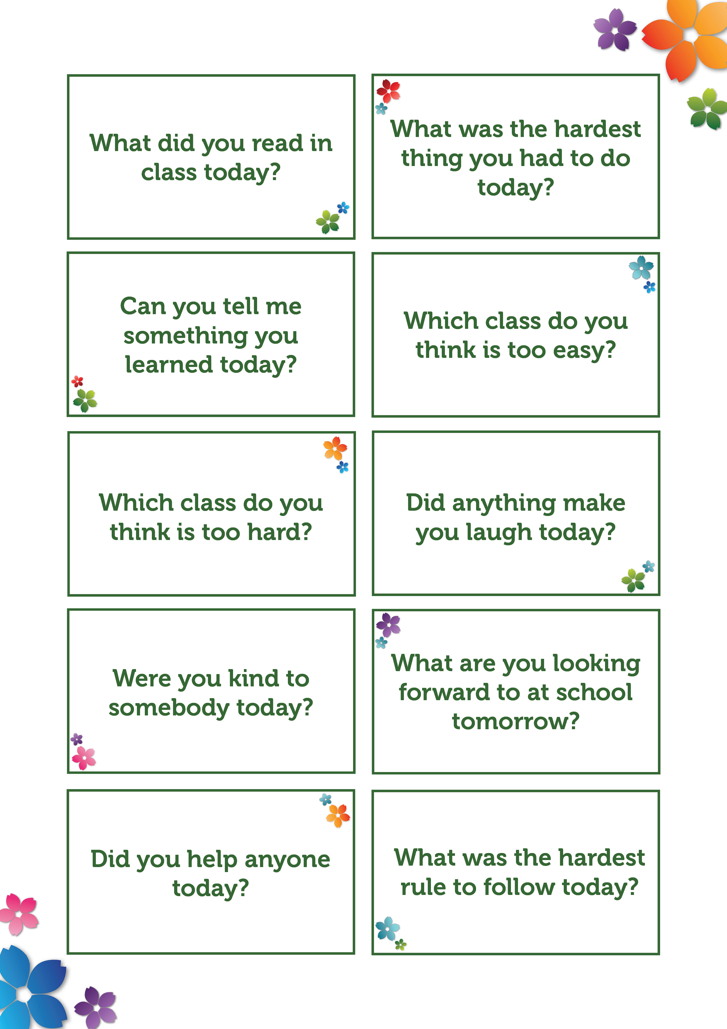 Conversation Starter Activity for Home (2)