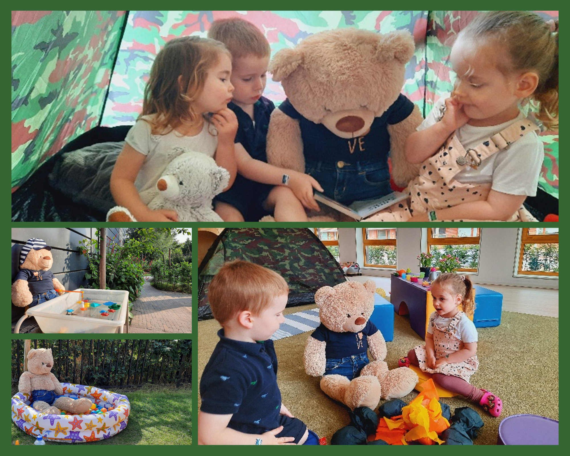Day care children enjoy themed learning opportunities at Zein International Childcare.