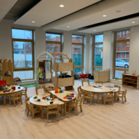 Natural and stylish indoor furniture and items for learning and play.